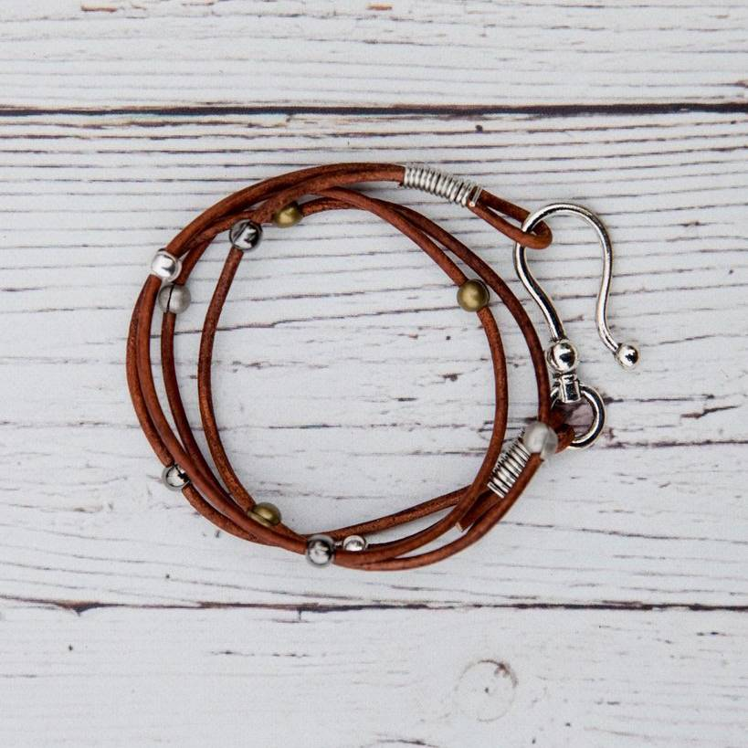 Double Leather Hook Wraps