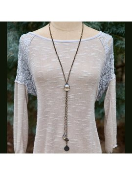 Day Dreamer IW Lariat Necklace