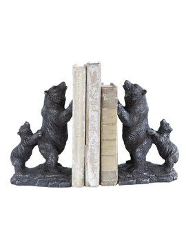 Resin Bear Bookends