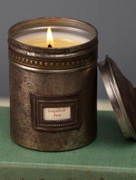 Cafe Tin Candle