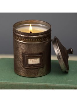 Cafe Tin Candle