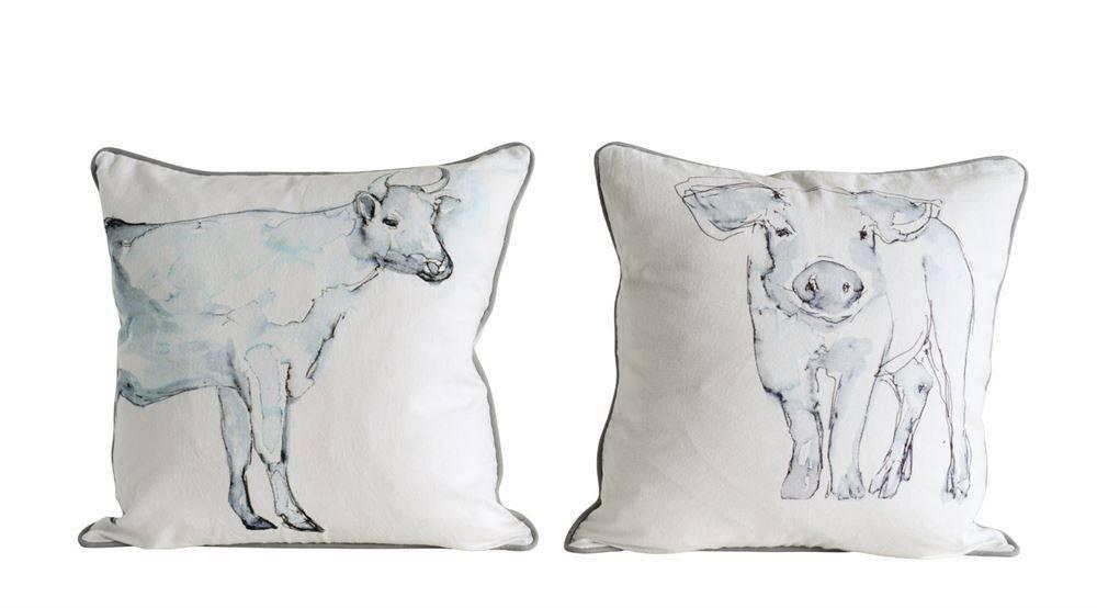 18 Inch Farm Animal Pillows