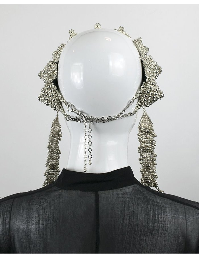 OBJECT AND DAWN EINGANA CROWN/ ANOUK MEDALLIONS