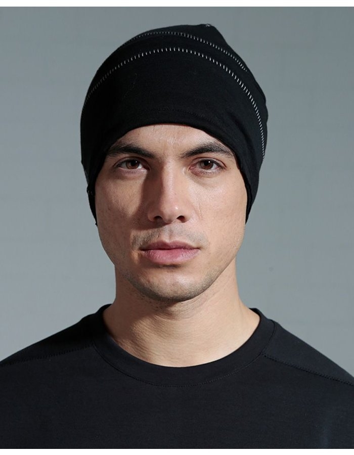 THOM KROM COTTON CAP WITH STITCH DETAIL