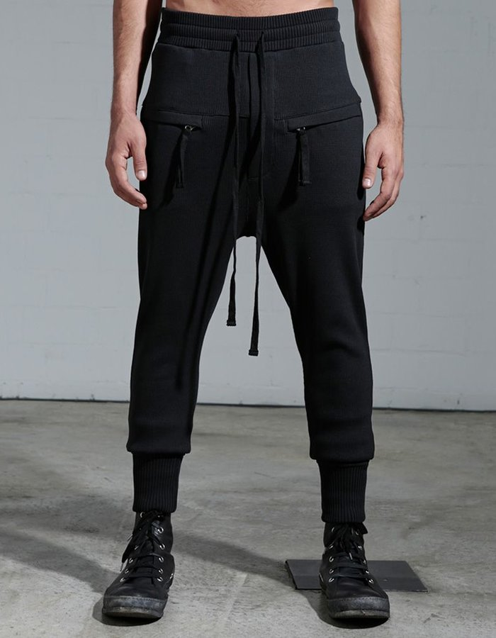 THOM KROM RIBBED COTTON TROUSER