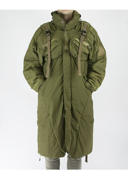 HAMCUS 2 PIECE QUILTED COAT IN OLIVE