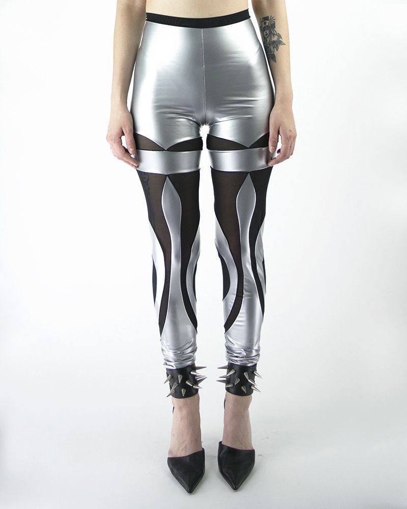 PHOENIX LEGGINGS SILVER