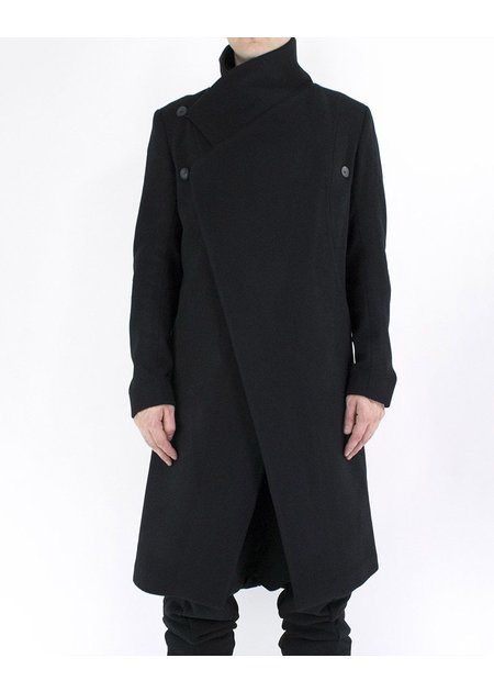 ARMY OF ME WRAP WOOL COAT 02