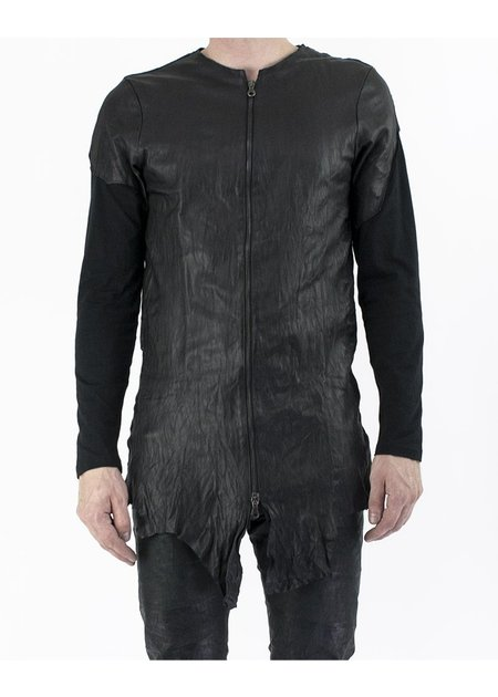 M-OJO RISIN' WASHED LEATHER JACKET - BURRO