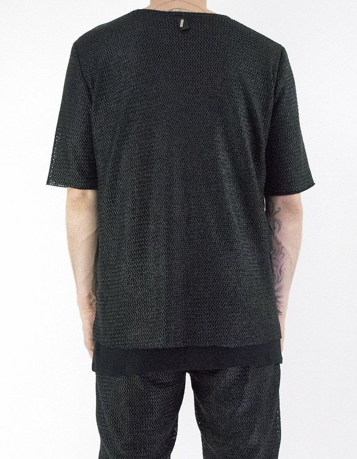 DAVID'S ROAD COATED MESH SHORT SLEEVE