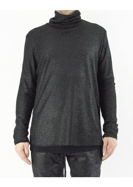 DAVID'S ROAD COATED MESH TURTLENECK
