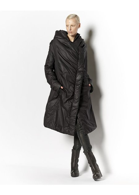 MASNADA THIN DOWN HOODED COAT
