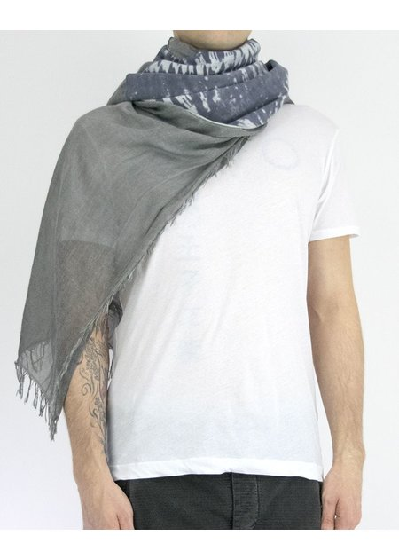 CLAUDIO CUTULI TYE DYE WITH LEATHER SCARF