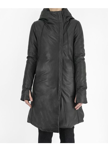 10SEI0OTTO LONG LEATHER DOWN JACKET