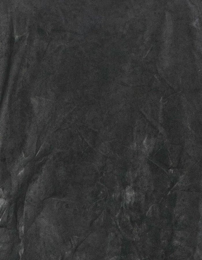M-OJO RISIN' LONG SLEEVE LEATHER T-SHIRT - BURRO