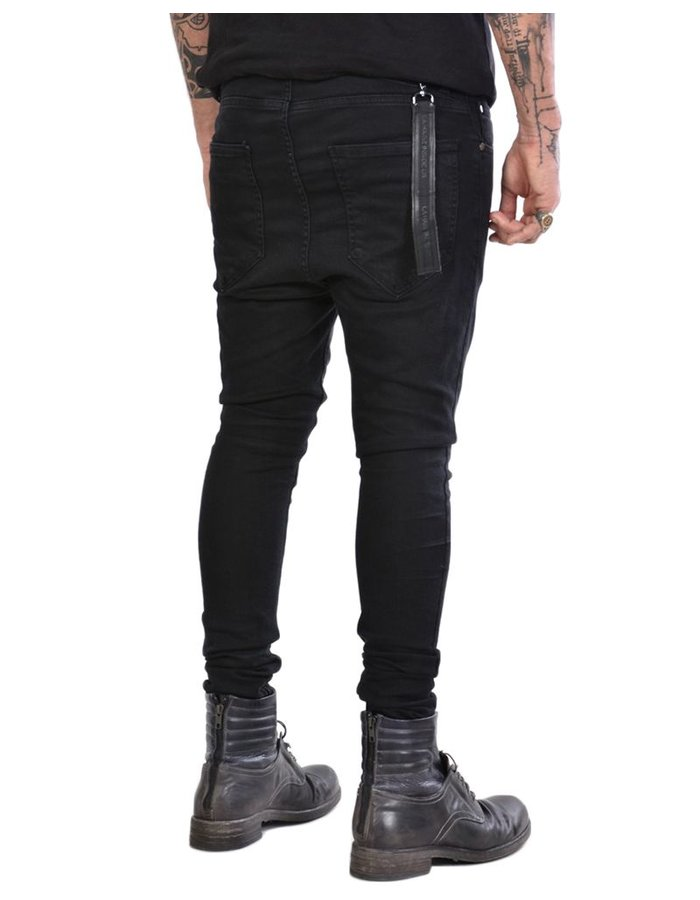 LA HAINE INSIDE US STRETCH SKINNY JEANS