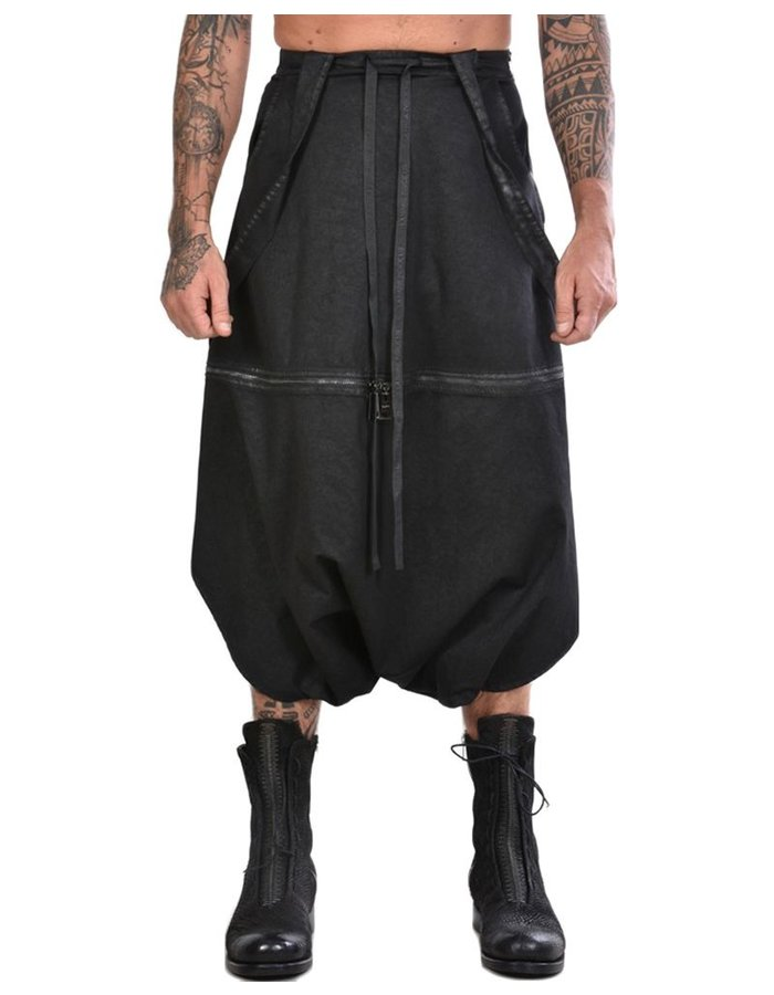 LA HAINE INSIDE US TWO PIECE SKIRTED OVERALL