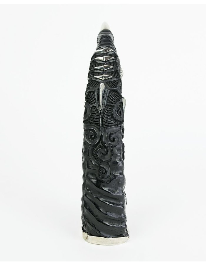 KD 2024 CARVED HORN WITH STERLING DISPLAY PIECE