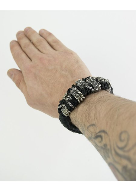 KD 2024 DOUBLE SPIKE BLOCK BRACELET