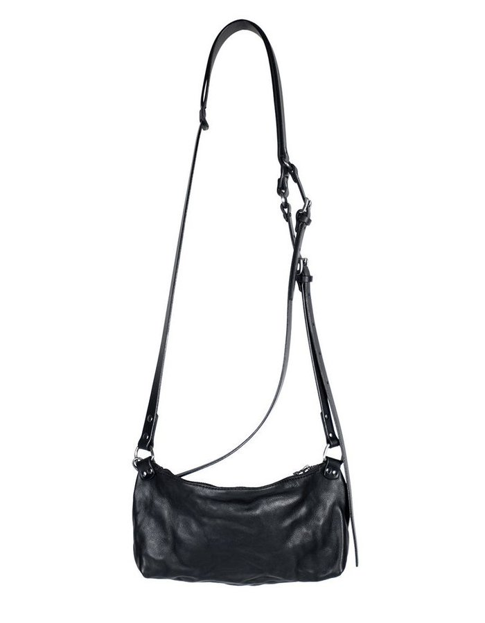 TEO + NG ETOS LEATHER SHOULDER BAG