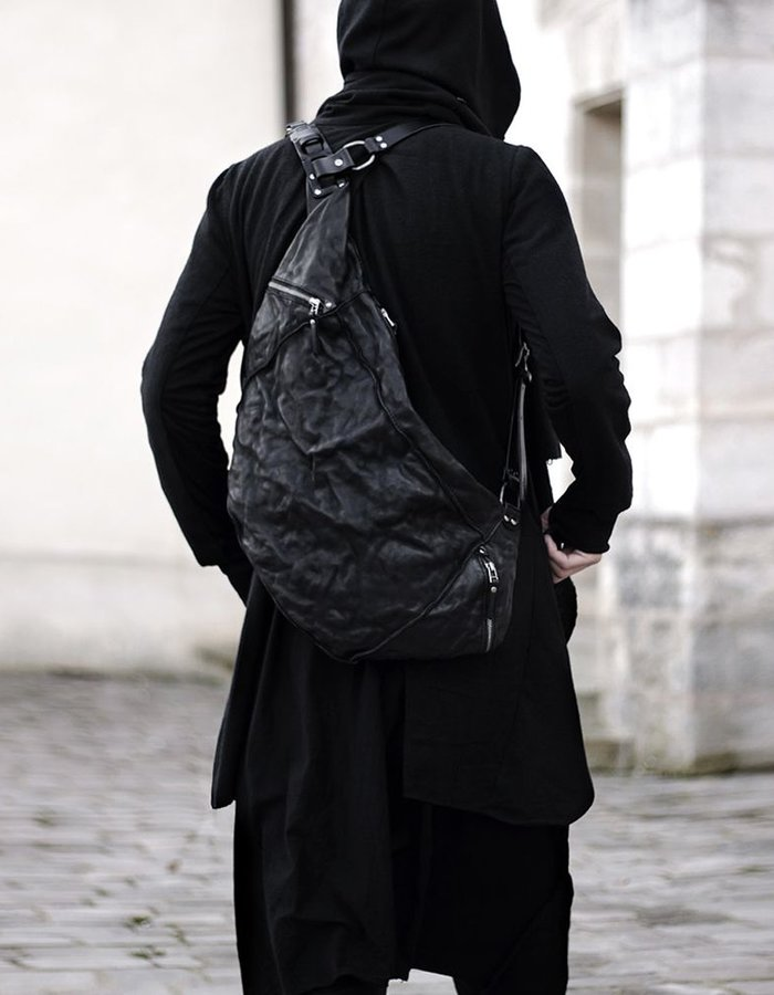 TEO + NG ARGO LEATHER BACKPACK