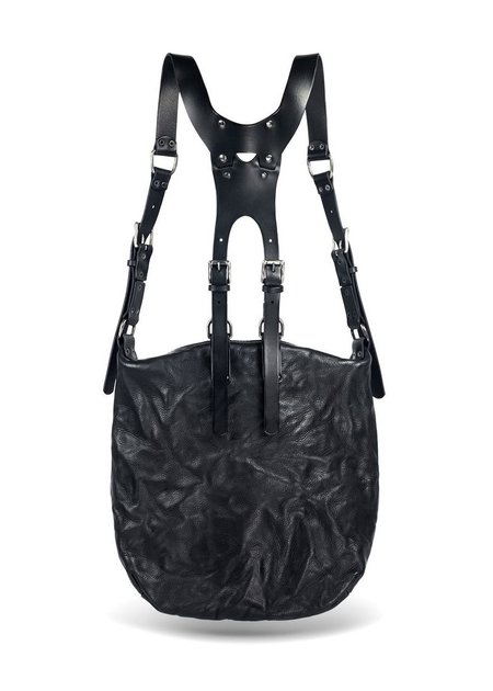 TEO + NG MAEKO LEATHER HARNESS BACKPACK