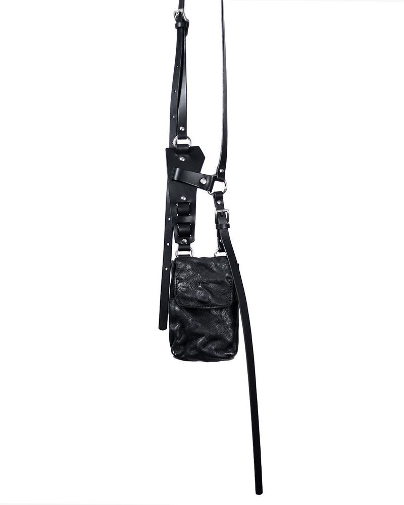 AMIT LEATHER HARNESS BAG
