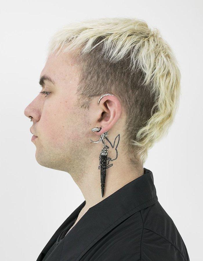 KD 2024 EARCLIP  ZERO:STERLING LEFT EAR