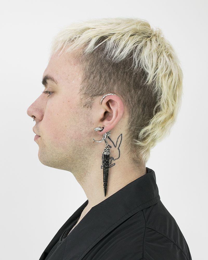 EARCLIP  ZERO:STERLING LEFT EAR