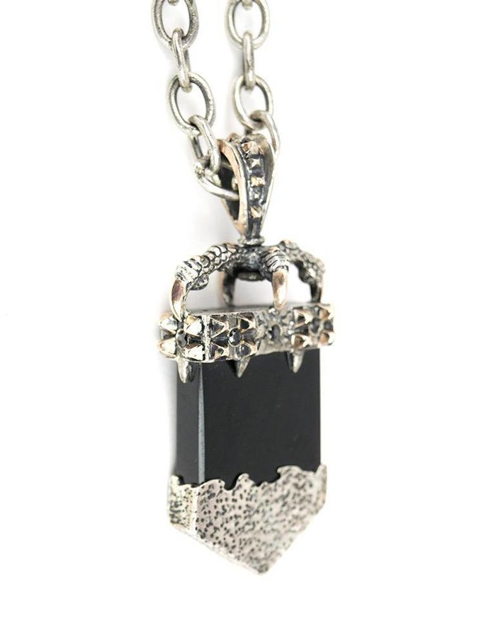 KD 2024 PENDANT MONOLITH  : STERLING AND ONYX