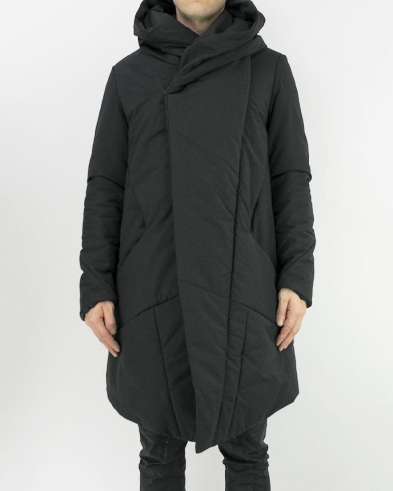 HIDDEN ZIPPER PARKA