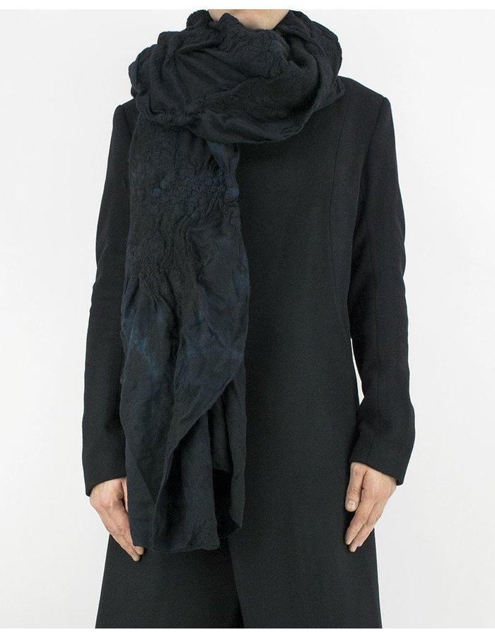 BIEK VERSTAPPEN LIGHT WOOL SCARF - BLUE