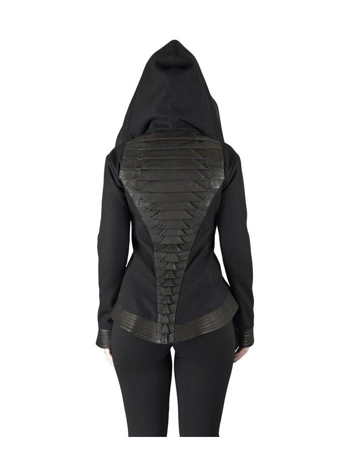 GELAREH DESIGNS CROCODILE  SHORT JACKET