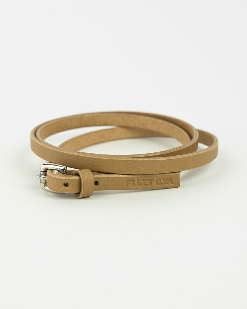 WRAP AROUND CHOKER - TAN