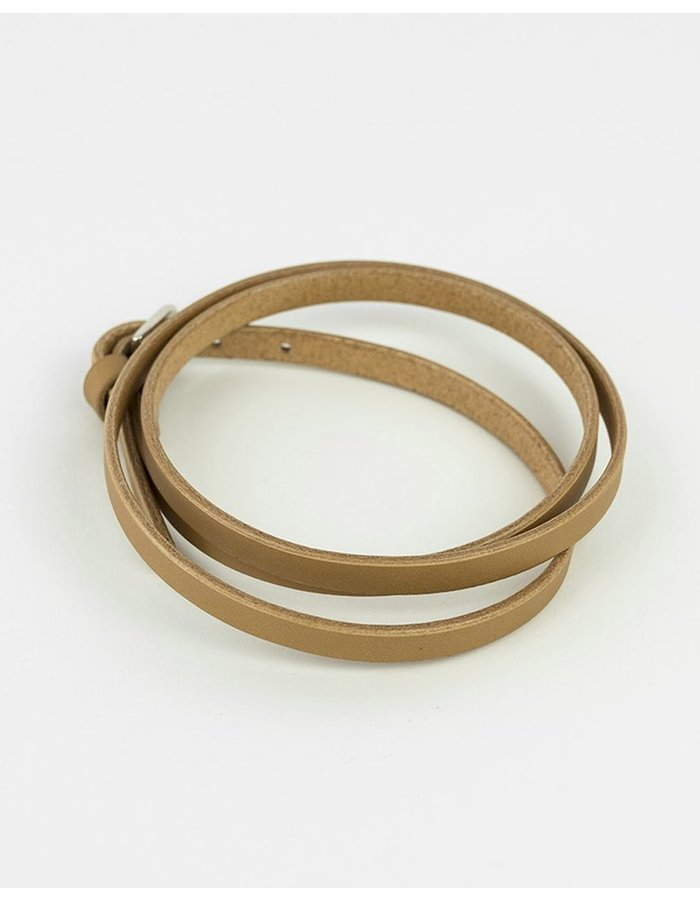 FLEET ILYA WRAP AROUND CHOKER - TAN