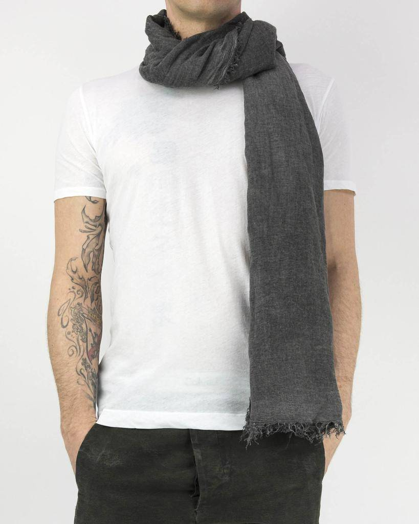 MODAL CASHMERE STOLE ANTHRACITE