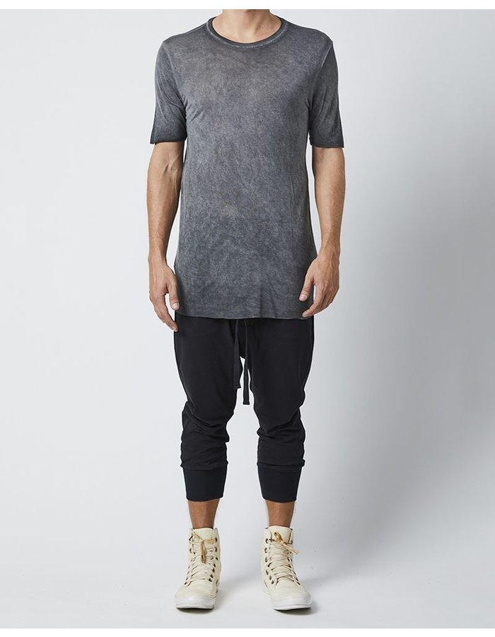 THOM KROM SHORT SLEEVE T-SHIRT - BLACK