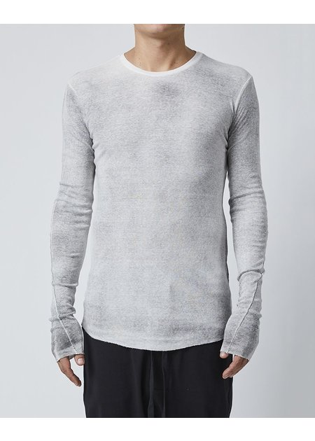 THOM KROM LONG SLEEVE T-SHIRT - OFF WHITE