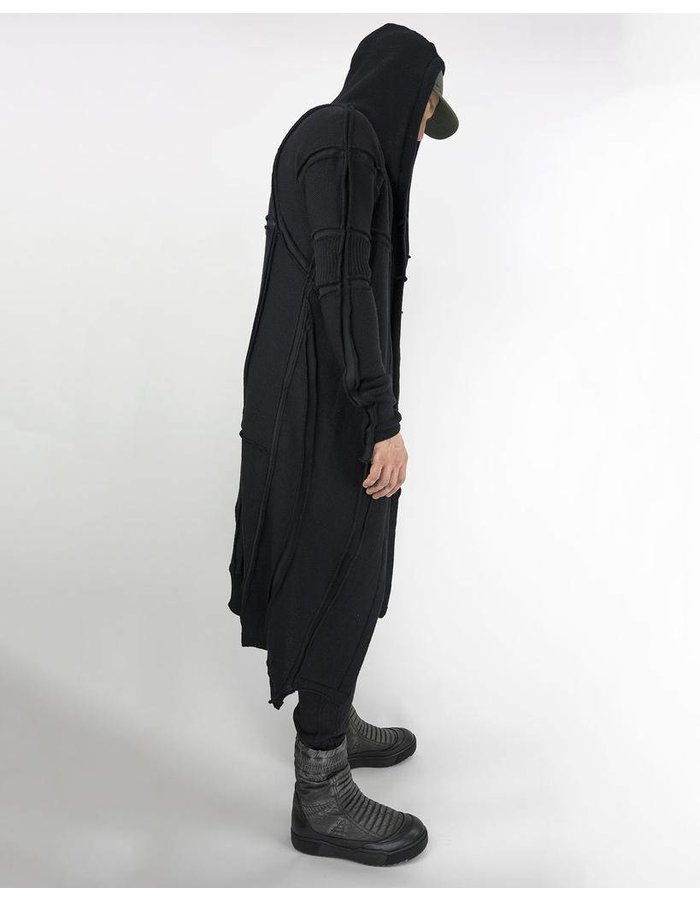 DEMOBAZA CARDIGAN LIGHT RECONNECT BLACK