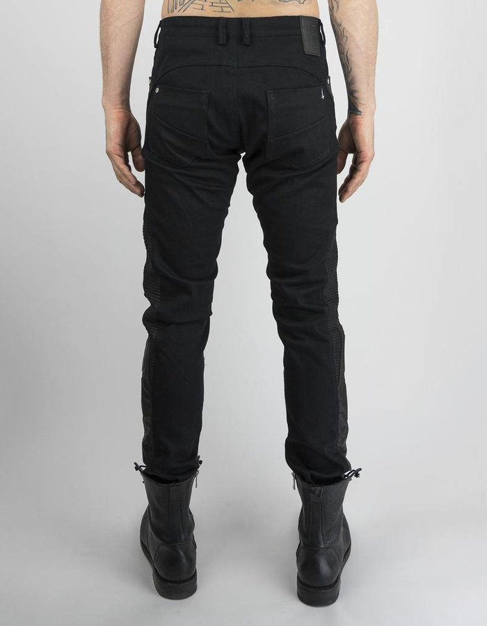 TNBP ALPHA CHICANE LEATHER JEAN