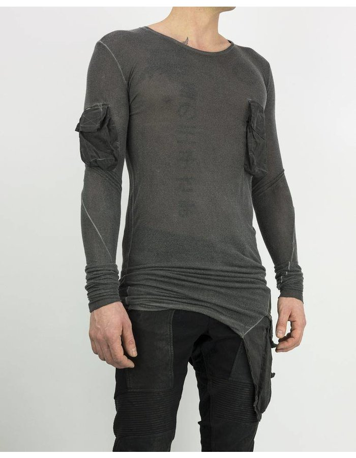 ARMY OF ME MULTI POCKETED JERSEY T -ANTRACITE