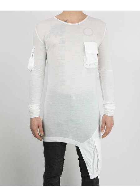 ARMY OF ME MULTI POCKETED JERSEY T WHITE