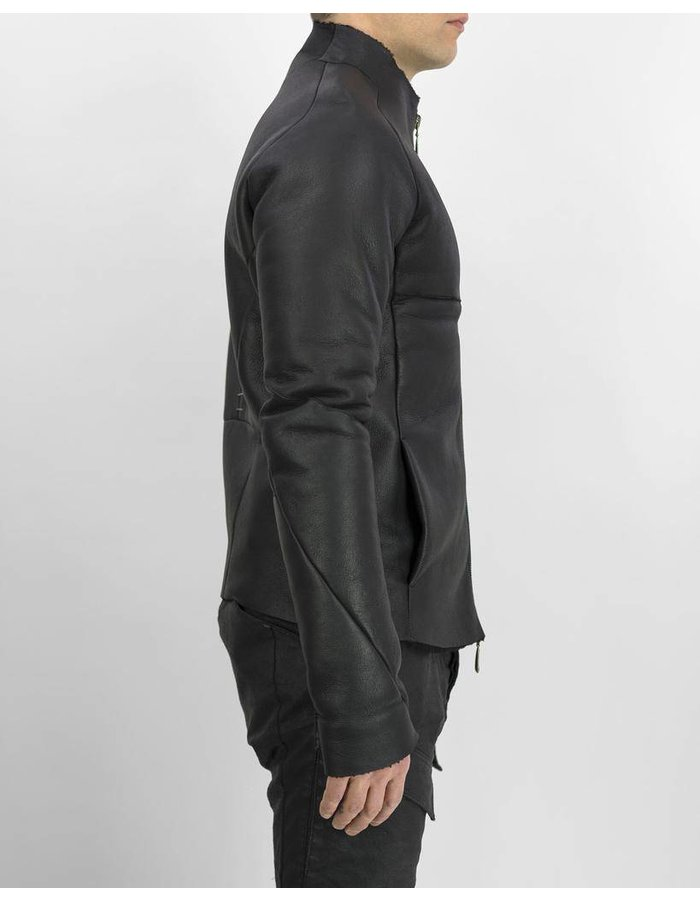 MASNADA SHORT SHEARLING JACKET