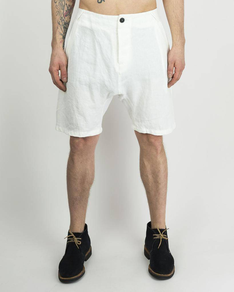 LINEN SHORTS DOREAN WHITE
