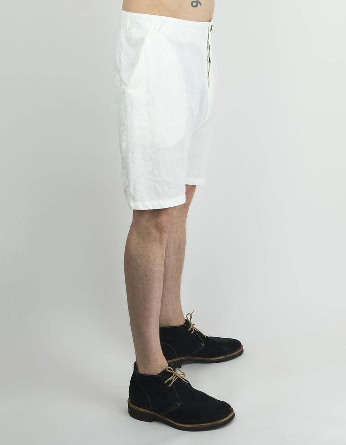 HANNIBAL LINEN SHORTS DOREAN WHITE