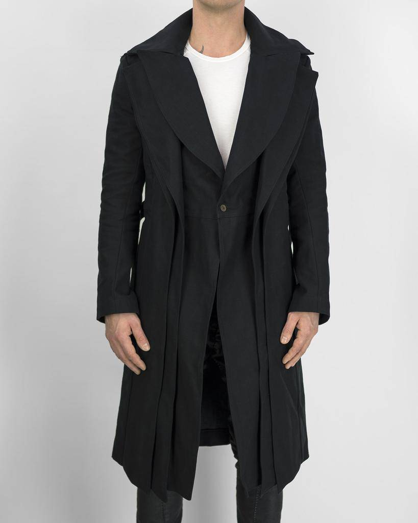 TRIPLE COLLAR COAT