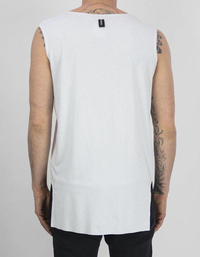 DAVID'S ROAD SHEILD VEST WHITE