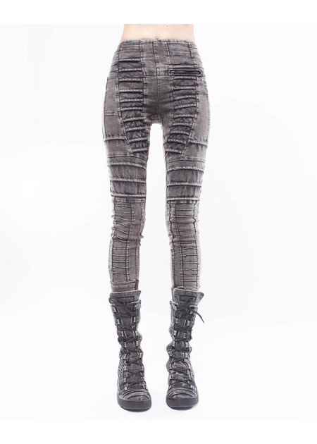 DEMOBAZA JEANS LEGGINGS FADED