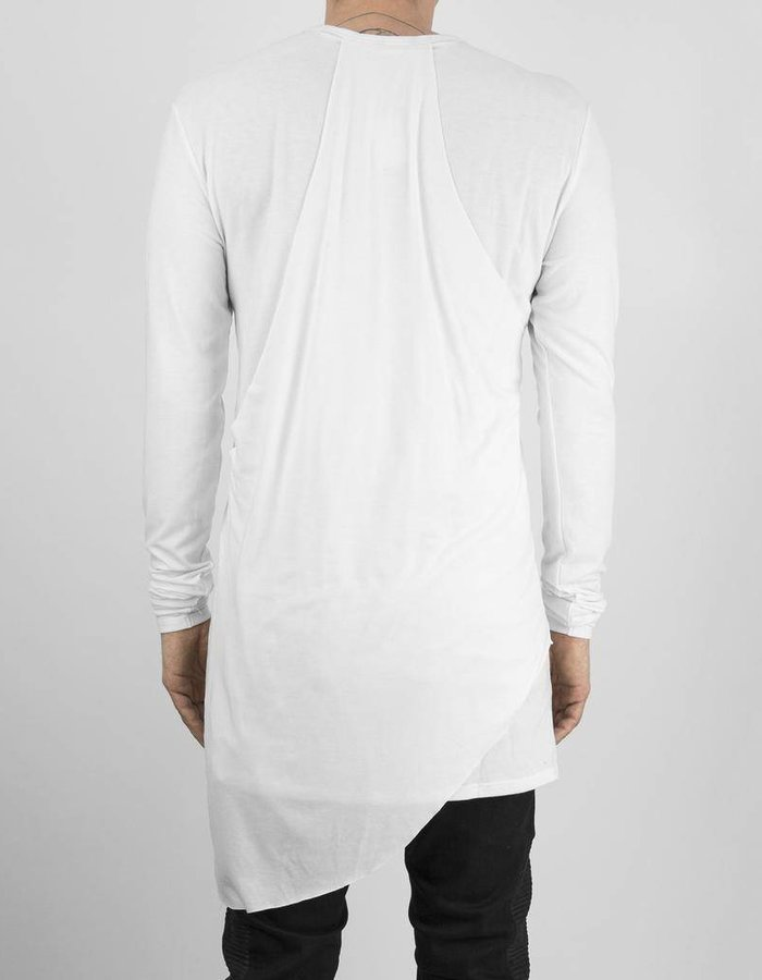 ARMY OF ME PANELED L/S JERSEY TOP WHT