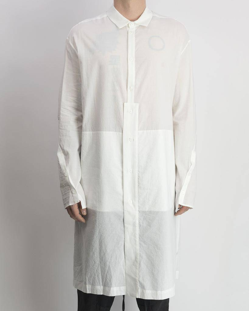LONG SHIRT COTTON WHITE